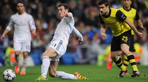 Gareth Bale (L) has been suffering from flu in lead up to the semi-final