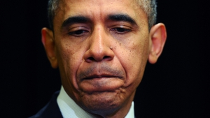 The poll revealed that 33% of those asked saw Mr Obama as the worst leader in the last 70 years