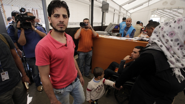 The one millionth Syrian refugee arrived in Lebanon today