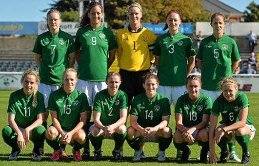 Irish Women's Soccer Team