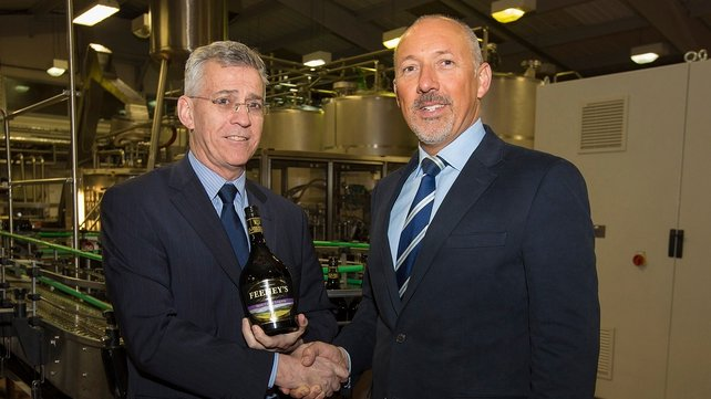 Aidan Tallon (l) First Ireland Spirits' CFO and Warren Scott from the Quintessential Brands Group