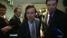 Minister Shatter says he is glad to be back doing 'real business'