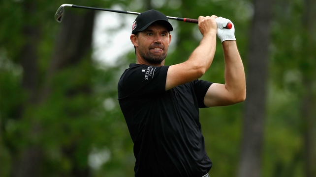 Padraig Harrington is in contention at the Shell Houston Open
