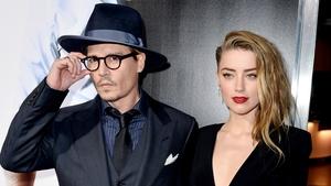 Amber Heard with husband Johnny Depp