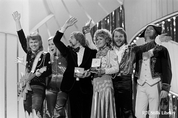 ABBA win Eurovision Song Contest (1974)