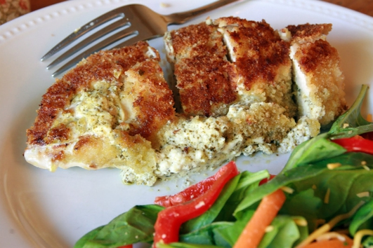 Nevens Recipes - Pesto Stuffed Chicken Breast