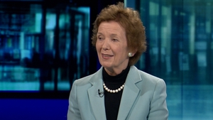 Mary Robinson said State visit by President Michael D Higgins was an important event