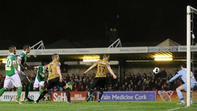 Mark O'Sullivan headed home for Cork's second goal