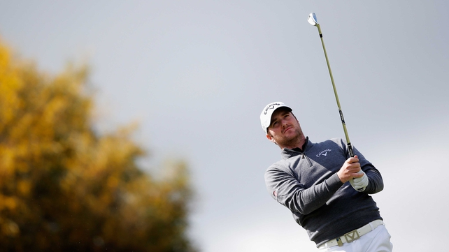 Marc Warren holds a share of the lead at the NH Collection Open