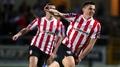 Sligo slump to Derry defeat