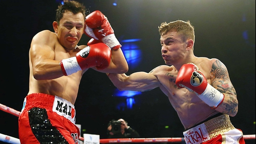 Carl Frampton is unbeaten in 18 professional bouts