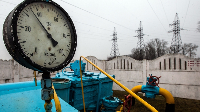 Russia has nearly doubled the gas price it charges Ukraine in recent months (Pic: EPA)