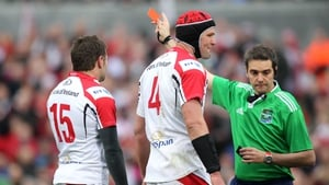 Jared Payne looks set to be punished for his red card against Saracens