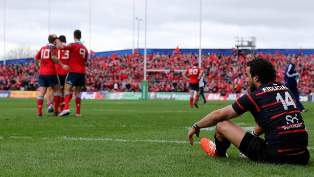 Thomond Park is unable to host tomorrow night's game