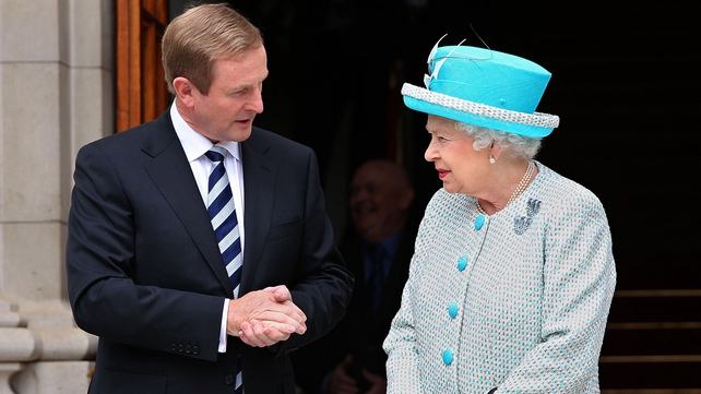 Enda Kenny said it should be possible for members of the British royal family to visit Dublin during the 1916 centenary events