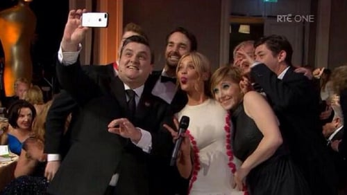 Selfies were all the rage at last year's IFTAs