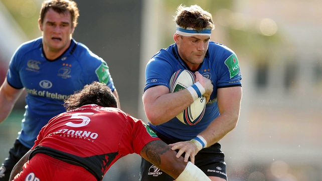 Bernard Jackman said that Leinster ended up just running at Toulon
