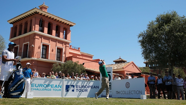 Marco Crespi's rookie season on the European Tour reached a new zenith at La Reserva de Sotogrande