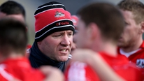 Cork boss Brian Cuthbert feels the pressure is off his side ahead of their clash with Mayo