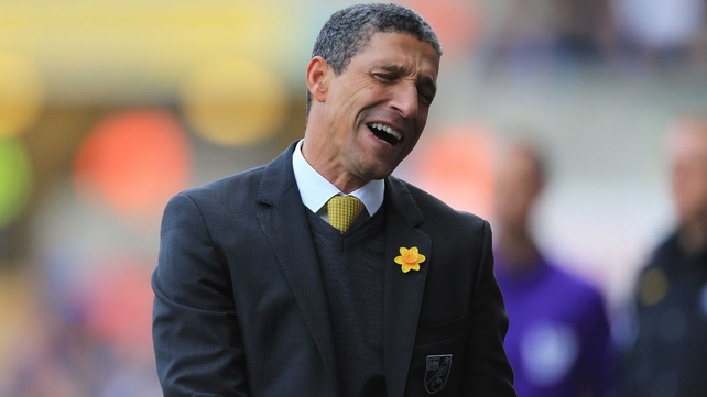 Norwich struggled for goals under Chris Hughton this season