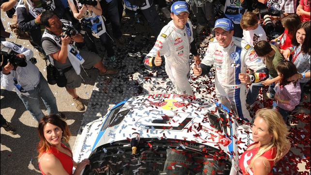Sebastian Ogier has won the Rally de Portugal four times from just five starts