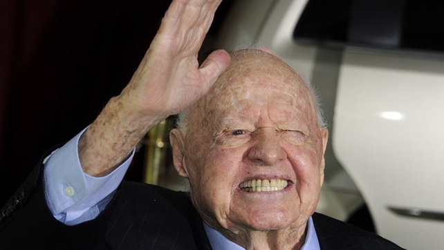 Mickey Rooney rose to fame in the successful 'Andy Hardy' film series