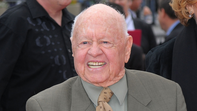 Mickey Rooney - Appeared in more than 200 films