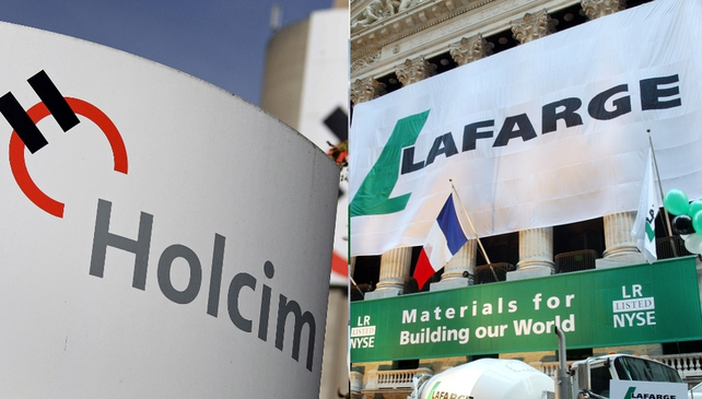 Holcim and Lafarage aim to complete their merger by the start of next year