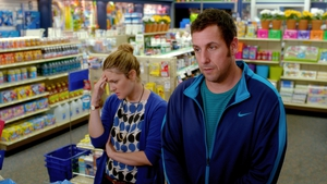 Drew Barrymore and Adam Sandler can't do much to save this absurd comedy