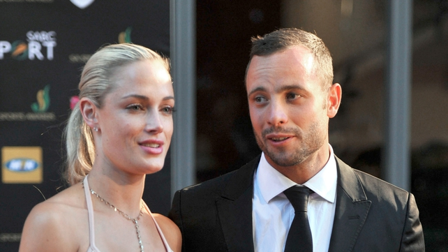 Oscar Pistorius and Reeva Steenkamp in November 2012