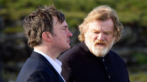 Dylan Moran and Brendan Gleeson contemplate the meaning of life in Calvary