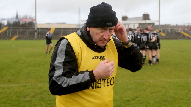 Sligo manager Pat Flanagan tried a large number of players in this year's Allianz League