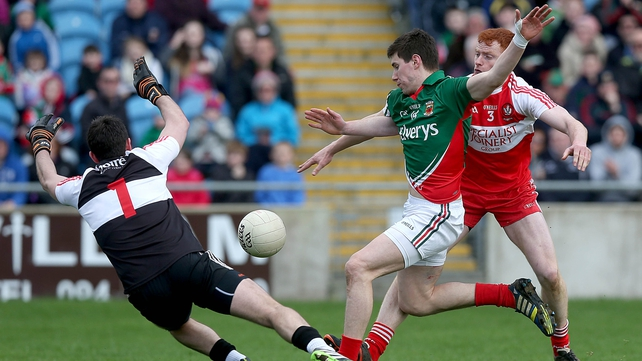 Mayo and Derry will meet for the second time in a week when they line up at Croke Park on Sunday next