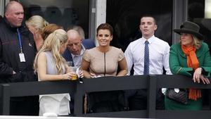 Coleen Rooney is an Aintree regular