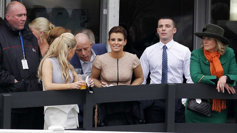 Coleen Rooney is an Aintree regular