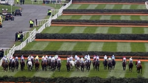 And they're off, eventually; the Grand National at Aintree got going at the second attempt