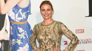 Cameron Diaz stuns in Emilio Pucci dress
