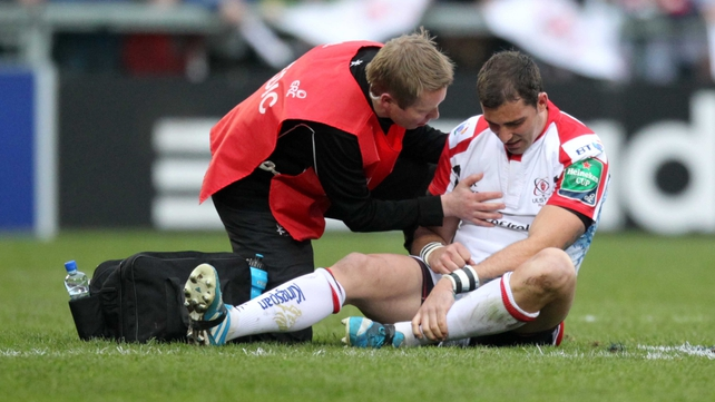 Ruan Pienaar is out for four to six weeks with shoulder trouble