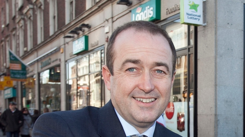 Londis Chief Executive Stephen O'Riordan announced an increase in profits of 35% to €1.67m