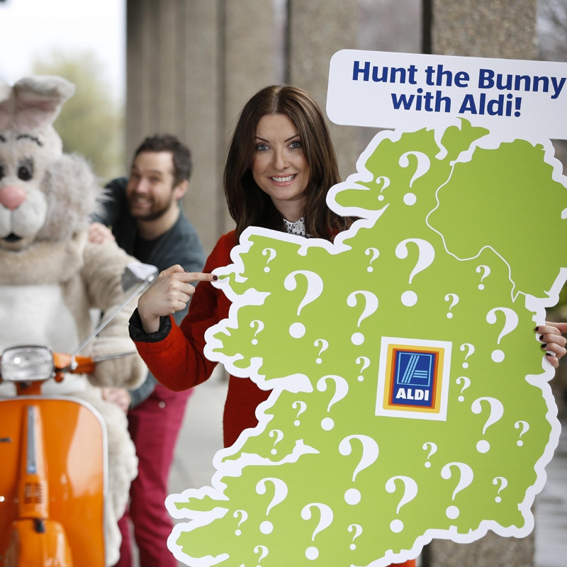 Aldi & RTE 2FM Launch Easter Bunny Hunt