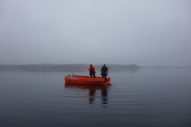 Underwater Archaeology Unit on Lough Corrib