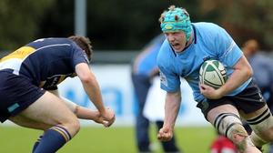 Conor Gilsenan (r) has 14 Leinster A caps