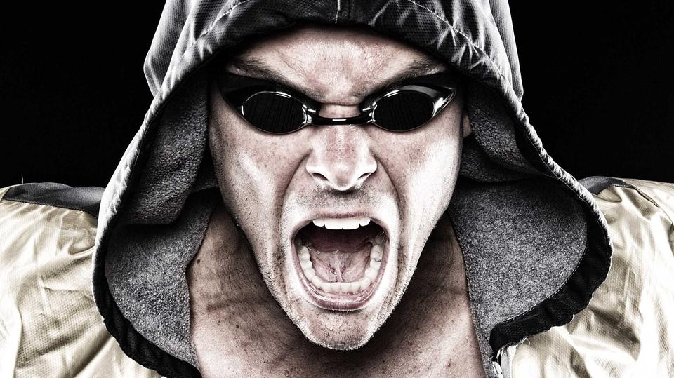 Australian swimmer Christian Sprenger poses during a portrait session in Brisbane