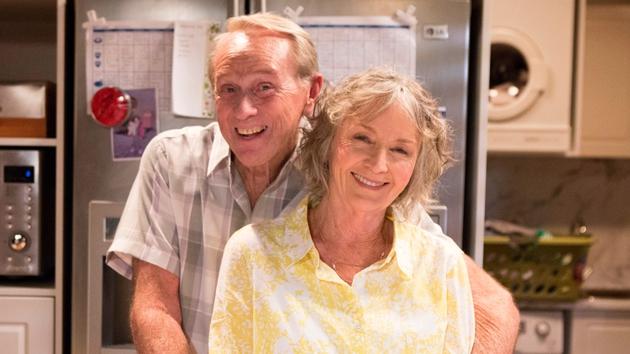 Sue Jones returns to Neighbours as Pam Willis