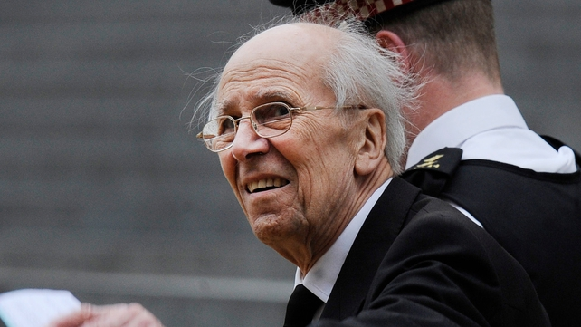 Norman Tebbit was injured during the 1984 IRA bombing of the Grand Hotel in Brighton (Pic: EPA)