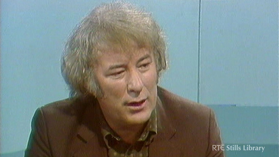 Seamus Heaney, 1983 © RTÉ Archives 3031/008