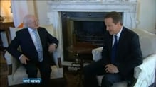 President Higgins the guest of honour at Downing Street lunch