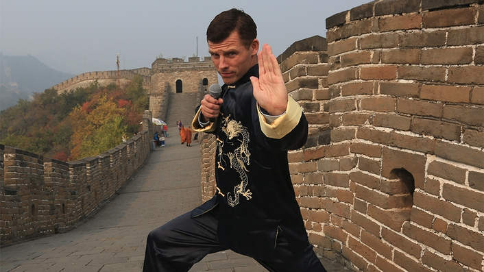 Des Bishop in China