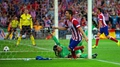 Atletico hold firm to knock Barca out