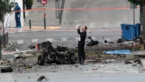 An anonymous caller said the bomb contained about 70kg of explosives